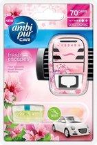 Ambi Pur Auto Luchtverfrisser Blossom Geur  - Luchtverfisser voor in de Auto - Autoverfrisser - Auto Parfum