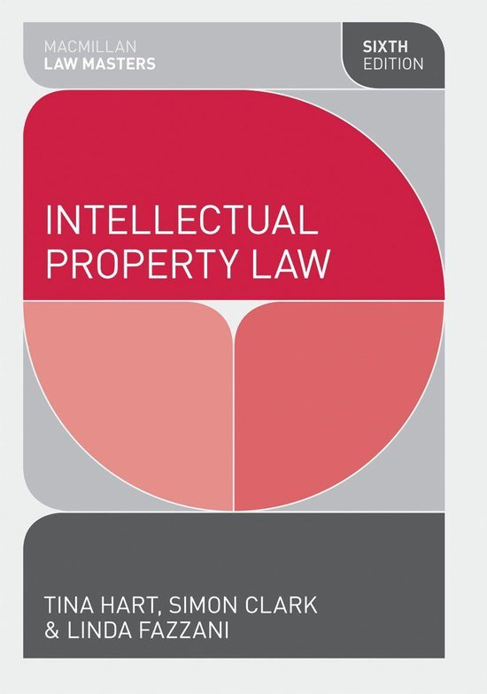 Omslag van Intellectual Property Law