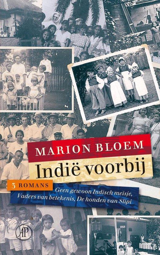 Boek cover Indië voorbij van Marion Bloem (Onbekend)