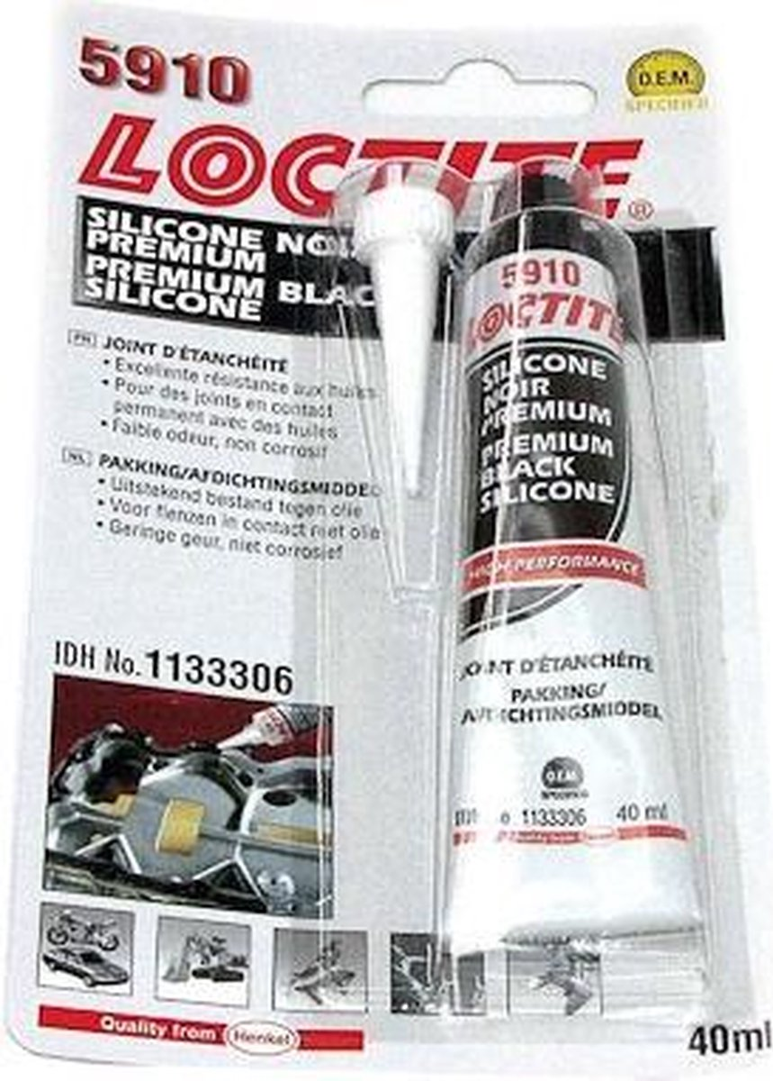Loctite vlakafdichting 5910 op siliconenbasis - 40ml - Loctite