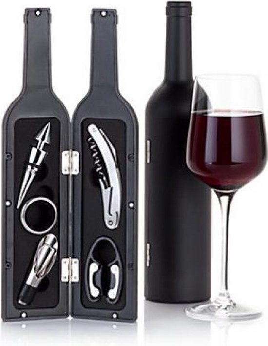 Wijnfles Set (5 stuks)