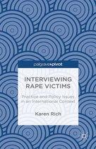 Omslag Interviewing Rape Victims