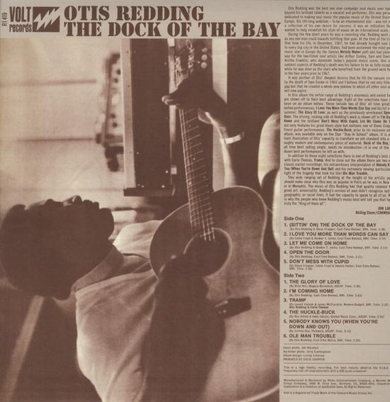 Dock Of The Bay (Mono) - Otis Redding