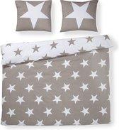Day Dream Stars - dekbedovertrek - lits-jumeaux - 240 x 200/220 - Zand
