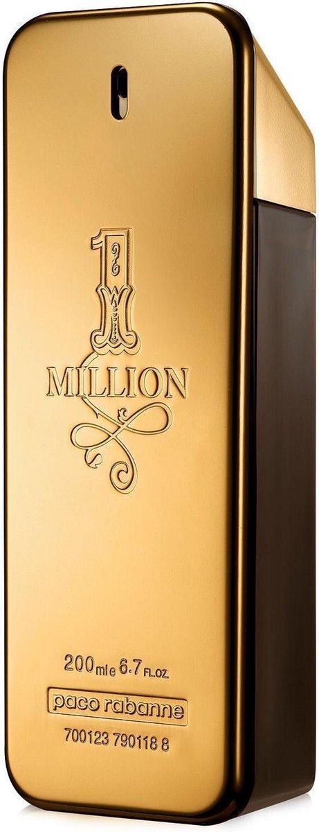 Paco Rabanne 1 Million 200 ml - Eau de Toilette - Herenparfum