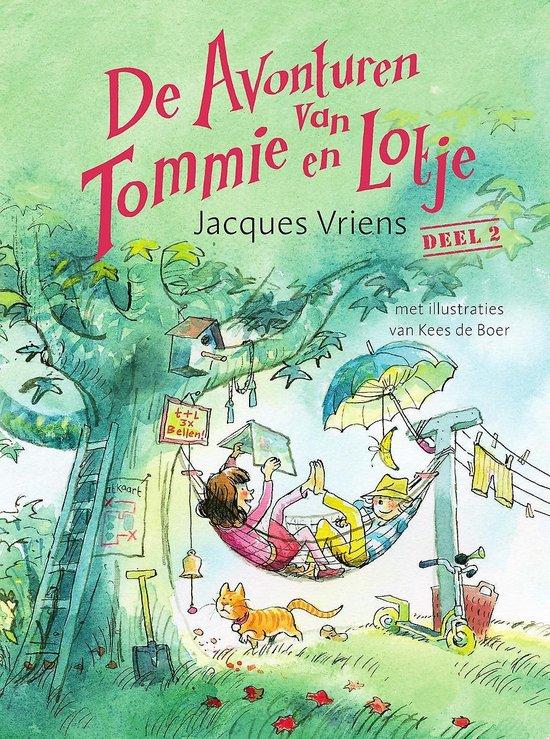 Tommie en Lotje 2 - De avonturen van Tommie en Lotje 2 - Jacques Vriens |
