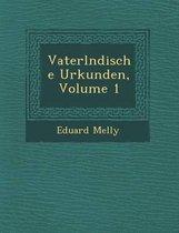 Vaterl Ndische Urkunden, Volume 1