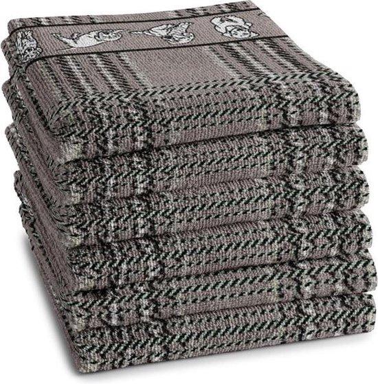 DDDDD Keukendoek Baloe Grey (6 stuks)