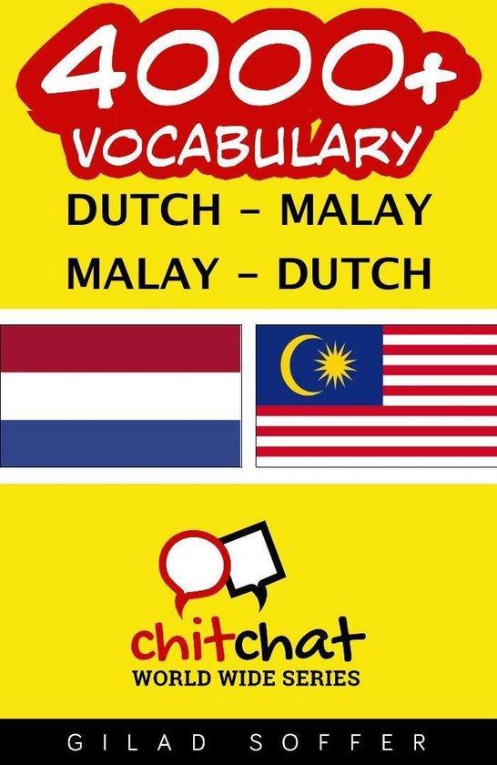 4000+ Vocabulary Dutch - Malay - Gilad Soffer |