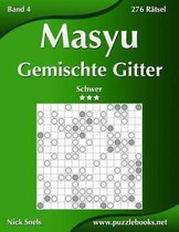 Masyu Gemischte Gitter - Schwer - Band 4 - 276 Ratsel