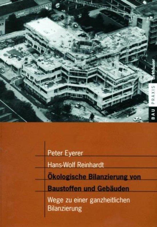 Cover van het boek 'Okologische Bilanzierung Von Baustoffen Und Gebauden'