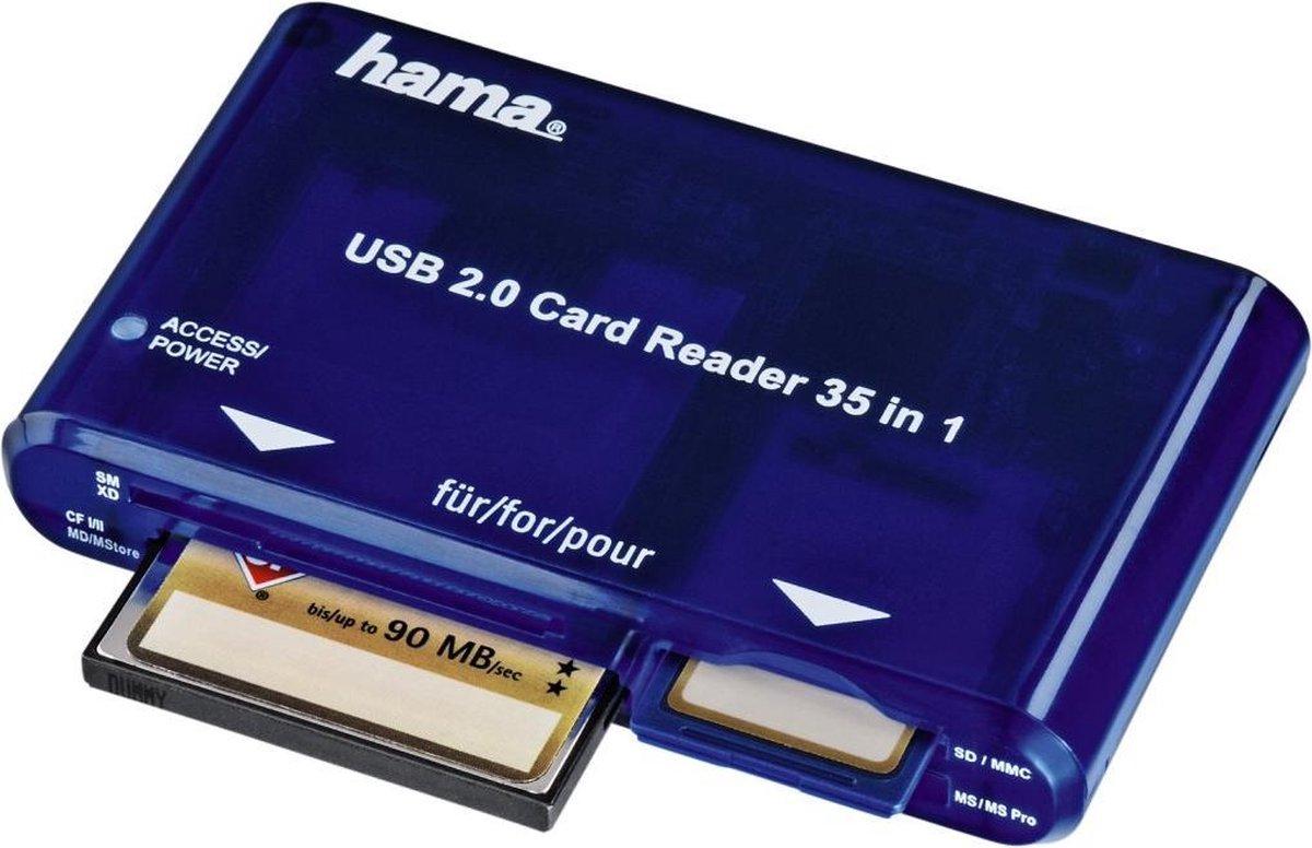 Hama 35-In-1 Card Reader USB 2.0