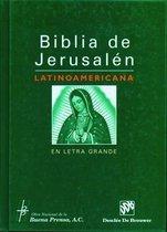 Biblia de Jerusalen Latinoamericana en Letra Grande-OS