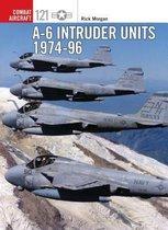 Boek cover A-6 Intruder Units 1974-96 van Rick Morgan