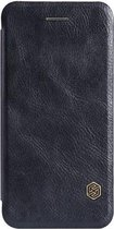 Nillkin - Qin Leather slim booktype hoes - iPhone 6 - zwart