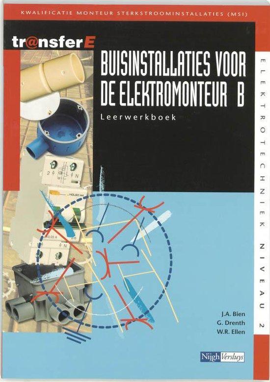 TransferE 2 - Buisinstallaties voor de elektromonteur B Leerwerkboek - J.A. Bien |