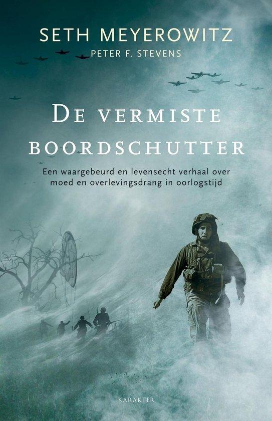 Boek cover De vermiste boordschutter van Seth Meyerowitz (Onbekend)