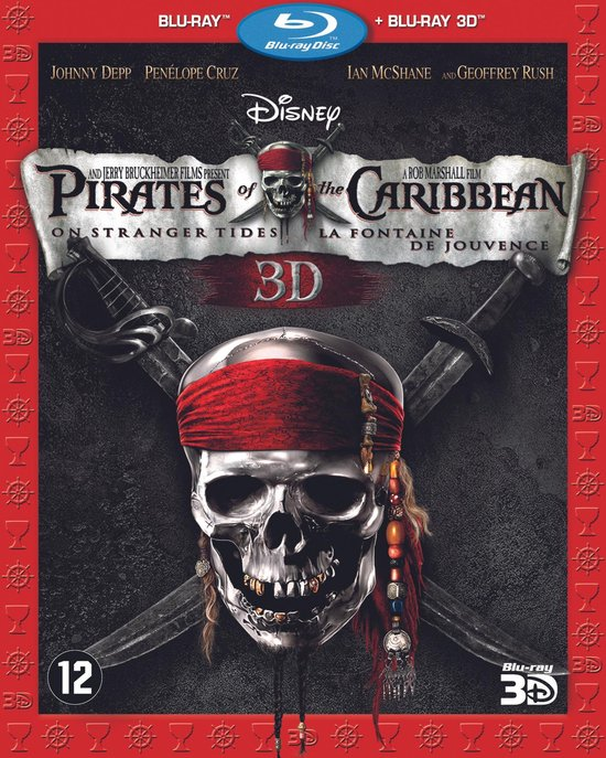Pirates of the Caribbean: On Stranger Tides (3D Blu-ray) - Film