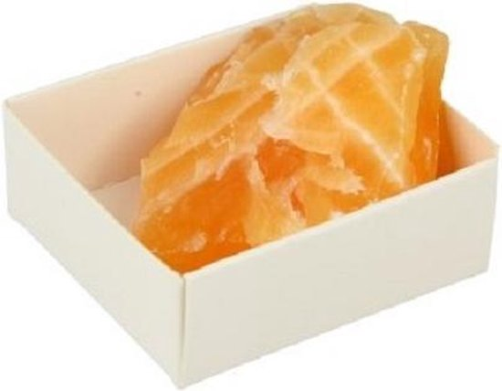 Ruwe Edelsteen Calciet Geel/oranje - Ruben Robijn