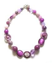 Jewellicious Designs Ketting Shiny Purple