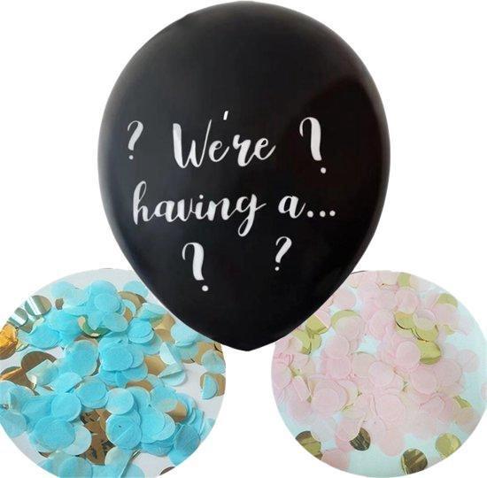 DW4Trading® Ballon confetti We're having a girl