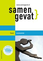 Boek cover Samengevat - Havo Economie van J.P.M. Blaas (Paperback)