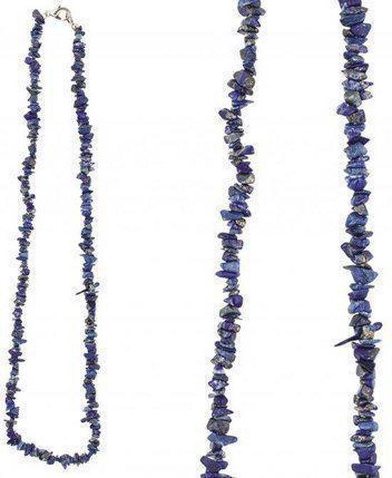Splitketting Lapis Lazuli - Collier
