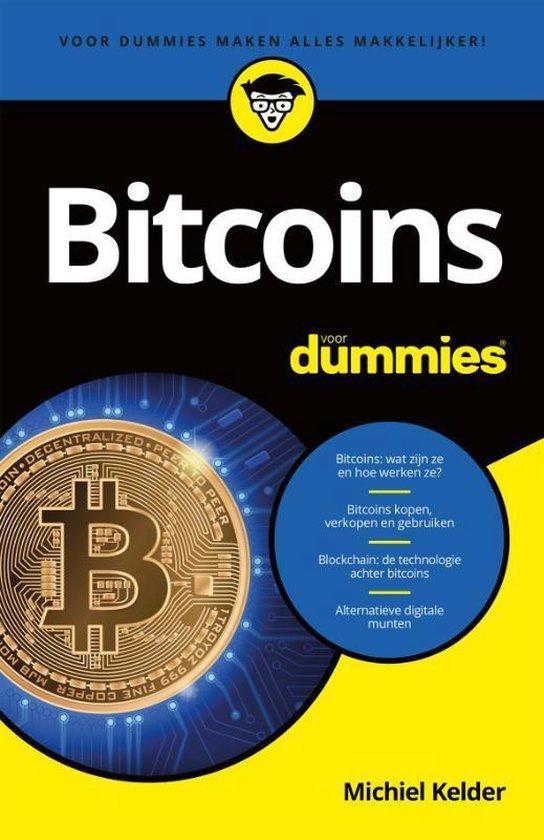 Boek cover Bitcoins voor Dummies van Michiel Kelder (Paperback)