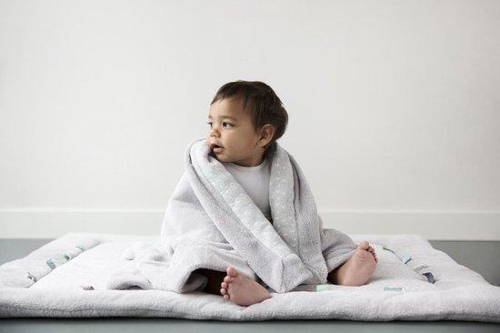 Snoozebaby Wiegdeken Lovely Grey (75 x 100cm)
