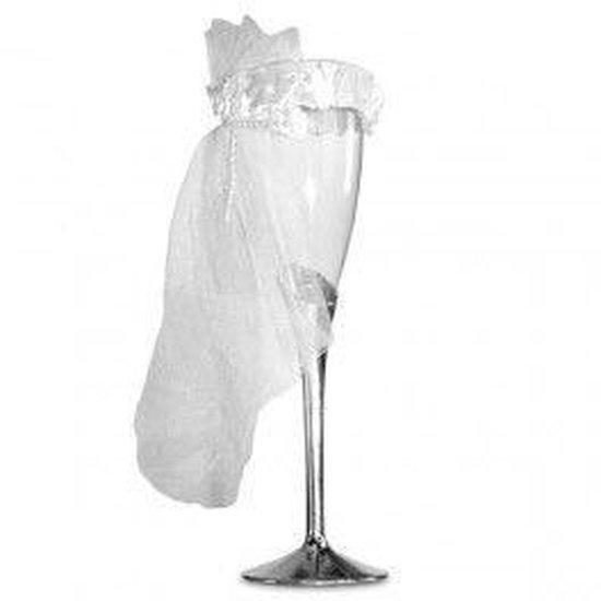 Verwonderend bol.com   Champagneglazen Bruid & Bruidegom KX-79