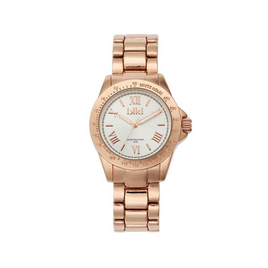 IKKI Tiffany Rose gold/Silver horloge TF-02