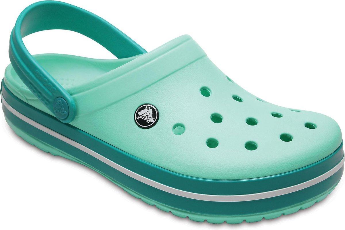 Crocs Crocband slippers Slippers - Maat 39/40 - Unisex - groen - Crocs