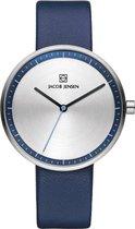 Jacob Jensen 282 horloge dames - blauw - edelstaal