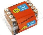 Grootverpakking Duracell AAA batterijen - LR03 - 24 stuks