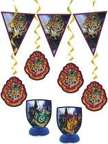 UNIQUE - Harry Potter decoratie set - Decoratie > Slingers en hangdecoraties