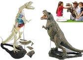 Bouwpakket T-Rex Dinosaurus - Geoworld - 150 delig - 144 x 80 cm