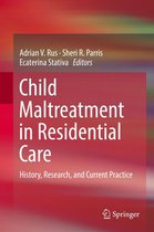 Omslag Child Maltreatment in Residential Care