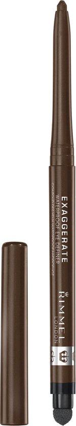 Rimmel Exaggerate Waterproof Eye Definer - 212 Rich Brown
