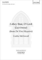I OBEY THEE O LORD X735