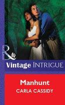 Omslag Manhunt (Mills & Boon Vintage Intrigue)