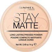Rimmel London Stay Matte Pressed Make-uppoeder - 006 Warm Beige