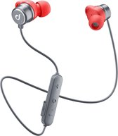 Cellularline Run Headset In-ear Zwart, Rood