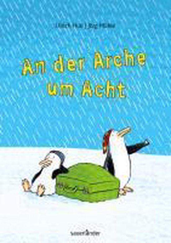Boek cover An der Arche um Acht van Ulrich Hub (Hardcover)