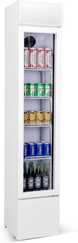 Koelkast: Horeca Koelkast Drankkoeling Smal   105 Liter, van het merk Hoco Horeca