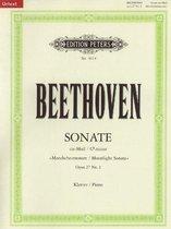 """Sonate für Klavier Nr. 14 cis-Moll op. 27; 2 """"Mondschein-Sonate"""" / URTEXT"""