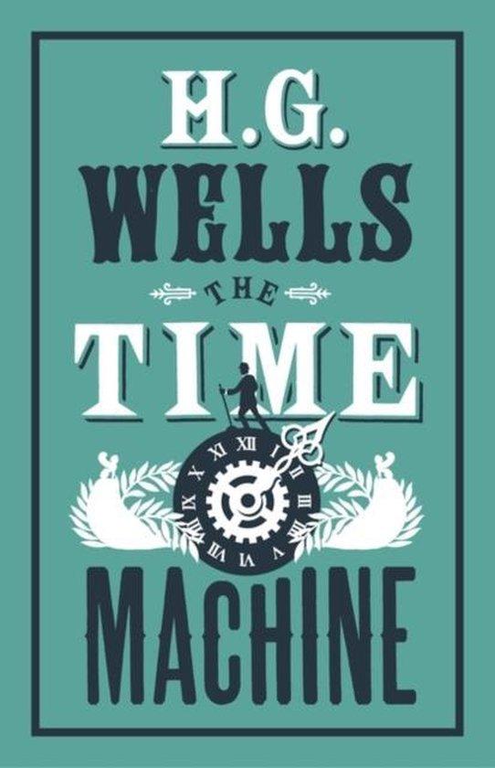 Boek cover The Time Machine van H G Wells (Paperback)