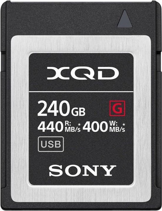 Sony XQD 240GB Geheugenkaart G-Serie