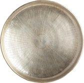 Dienblad Carve - Zilver - Aluminium - Rond - House Doctor