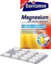 Davitamon Magnesium Voor Spieren & Botten Voedingssupplement - 42 tabletten