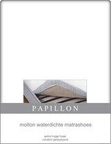 Hoeslaken Molton Waterdicht Papillon-80 x 200 cm